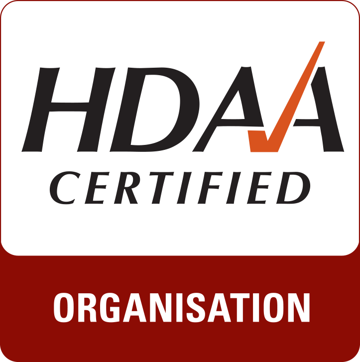 HDAA Certified Organisation Mark RGB